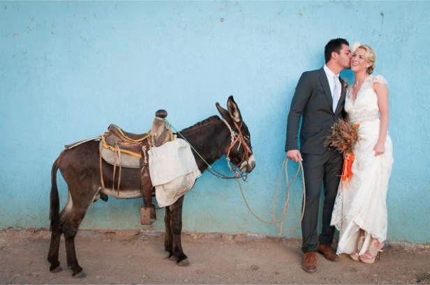 hacienda-wedding-donkey-photo-by-blush-wedding-photography-via-burnetts-boards