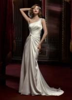 davids-bridal-one-shoulder-wedding-dress