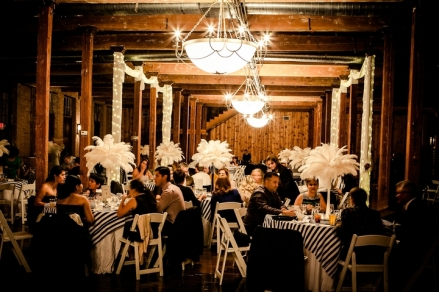 ostrich-feather-centerpieces