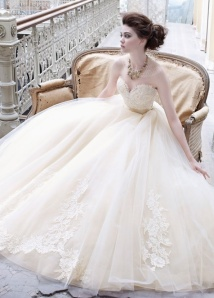 tulle-ball-gown-wedding-dress-by-lazaro-bridal-gowns